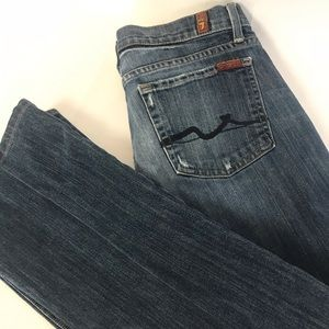 7 For All Mankind High Waist Women's Jeans Size 28
